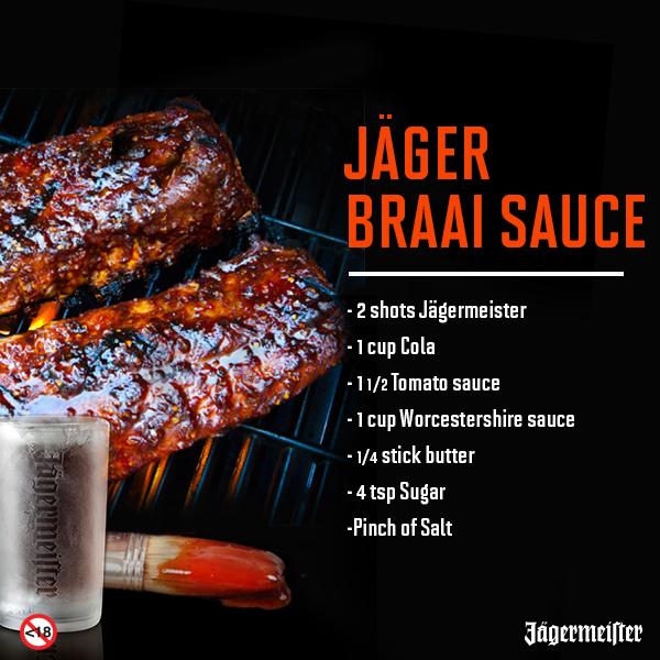 Jager Braai Sauce Stick Of Butter Food Recipes