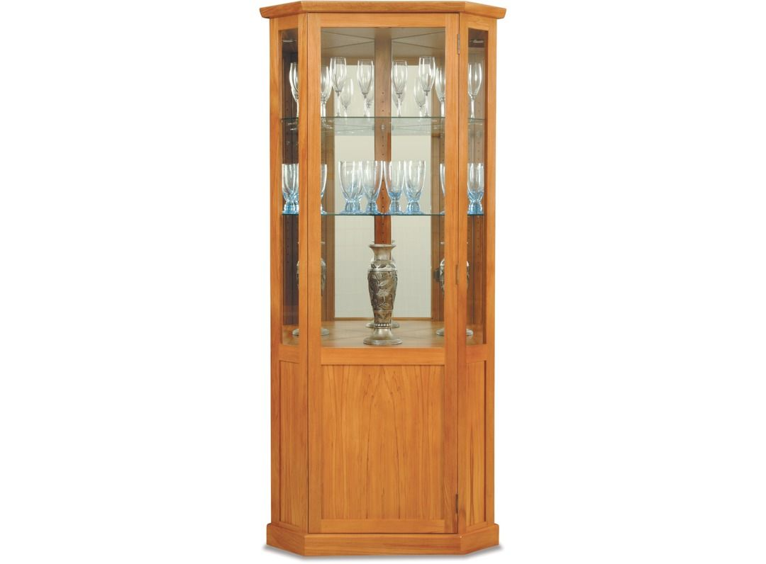 Venice Corner China Cabinet - Half Door | Living room ideas ...