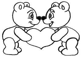 Malvorlagen Teddy Mit Herz Malvorlagencr