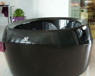 Corcel N°1 Carbon Fiber Luxury Bathtub #corcel @corcel #carbonfiber #luxury #cash #firstclass