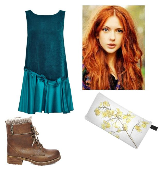 """""""Merida"""" by cam-ragland ❤ liked on Polyvore featuring Lattori and Steve Madden"""