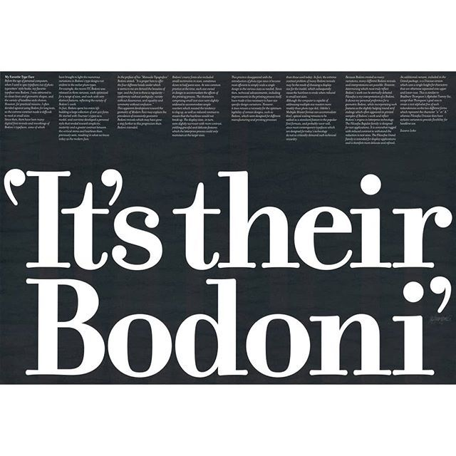 Do You Love The Typeface Bodoni? Or Are You Looking For
