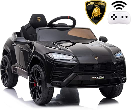 Amazon Com Rock Wheels Licensed Lamborghini Urus Ride On Truck Car Toy 12v Battery Powered Electric 4 Wheels Kids Toys W Kids Jeep Toy Cars For Kids Toy Car