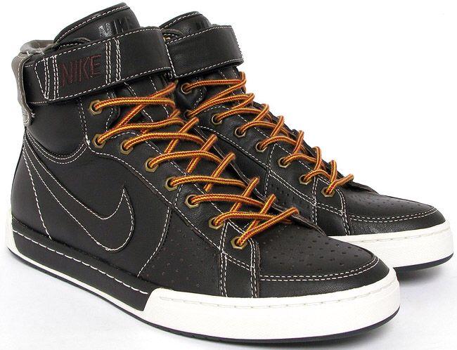 on sale 02ba0 13ee6 Nike Air Flytop  u201c Work Boot u0027 Black White Brown color