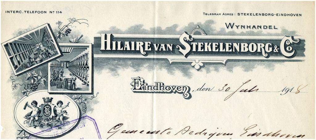 15313 Hilaire van Stekelenborg & Co. Wijnhandel... | Zoek resultaat…