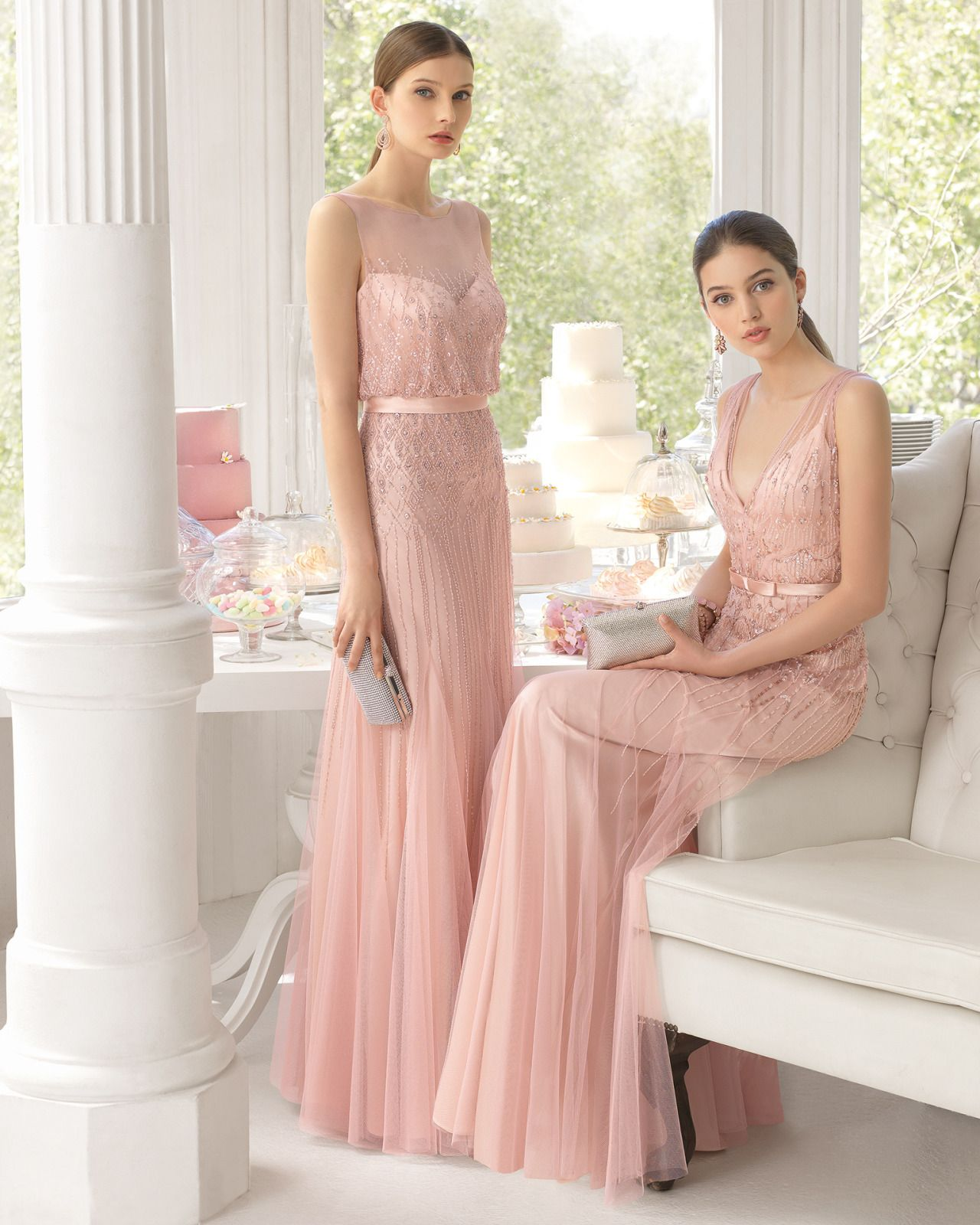 Ana Rosa | BRIDESMAIDS | Pinterest | Damitas de honor, Damas y Rosas