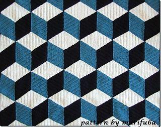 3d Blanket Pattern By Marifu6a интересные идеи Pinterest