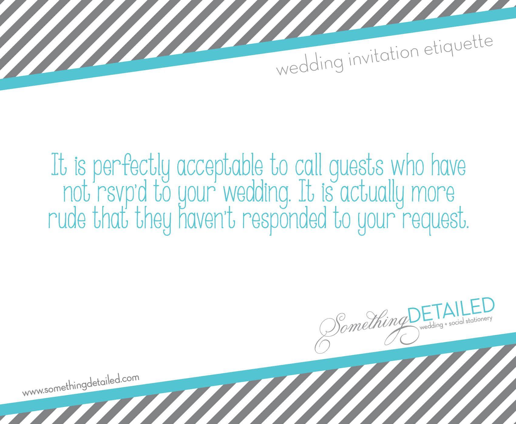 wedding invitation etiquette - rsvp\'s & response cards - www ...