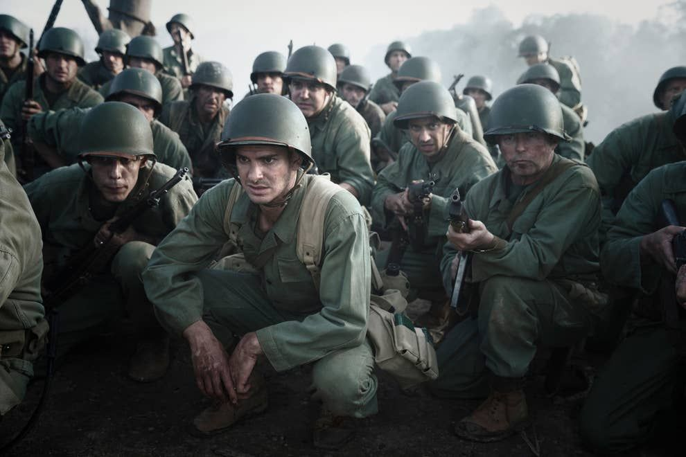 24 Movies People Said They Loved But Can Never Watch Again In 2021 Hacksaw Ridge Military Heroes Andrew Garfield