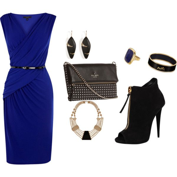 """""""off to dinner"""" by antoinette-2 on Polyvore"""