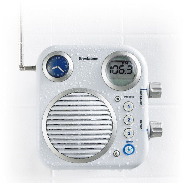 Shower Radio I Wish Had Fifty Dollars For It