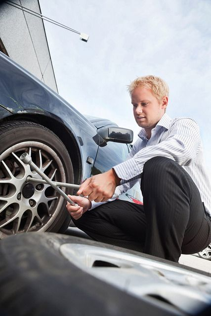 How To Change A Flat Tire Flat Tire Tire Spare Tire