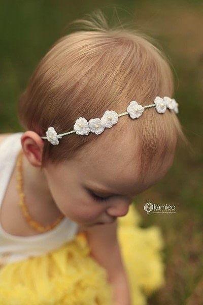 Dainty Crochet Flower Crown   Blumen, Stricken und Häkeln