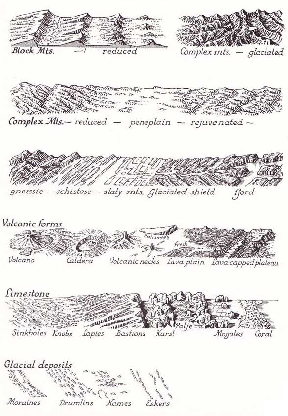 Landscapes, Biomes, and Ecologies: Definitions and Example