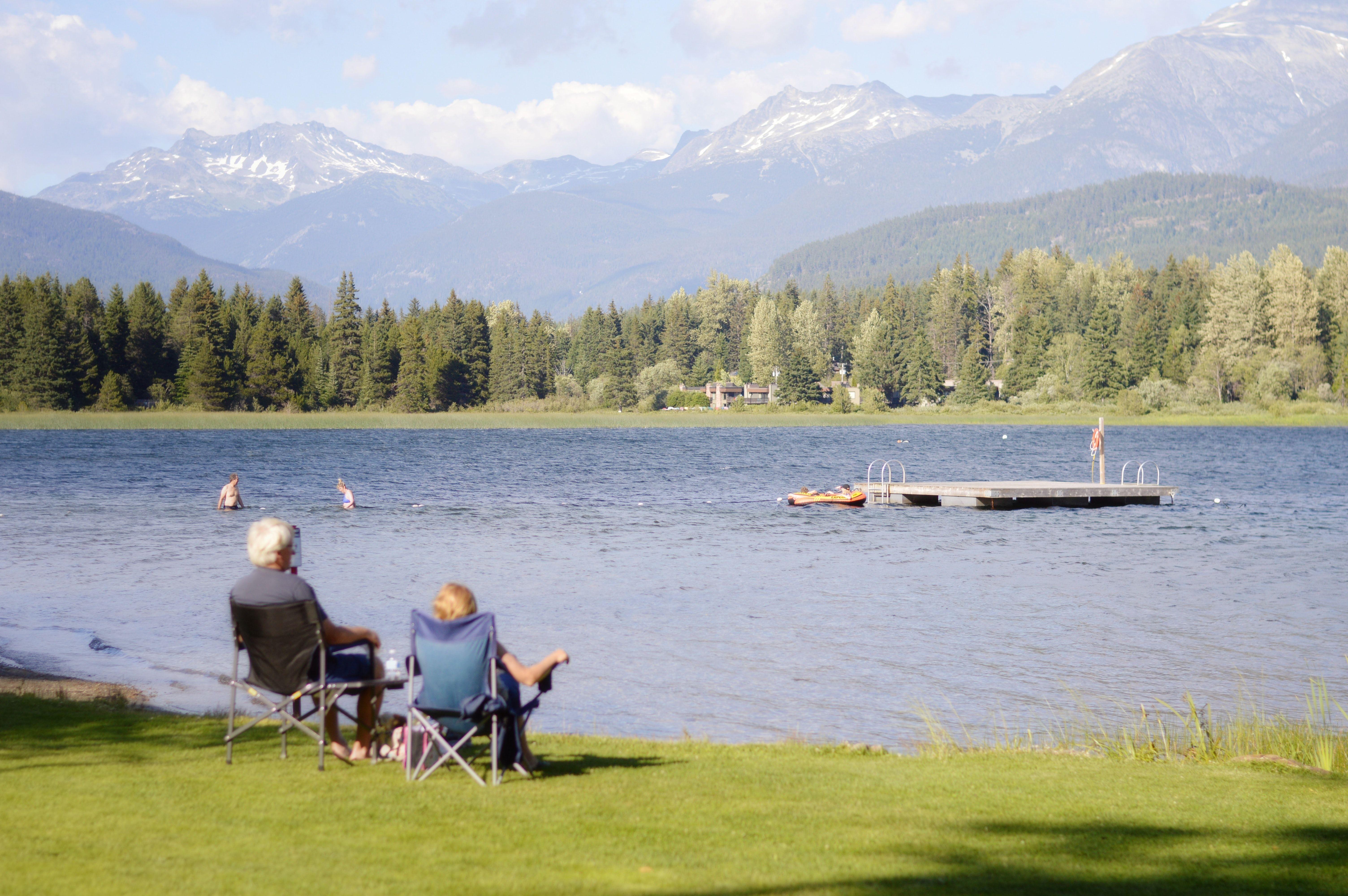 Living on retired time #lakeday #laketime #lakeliving #retirement #retiredlife #vacation #travel
