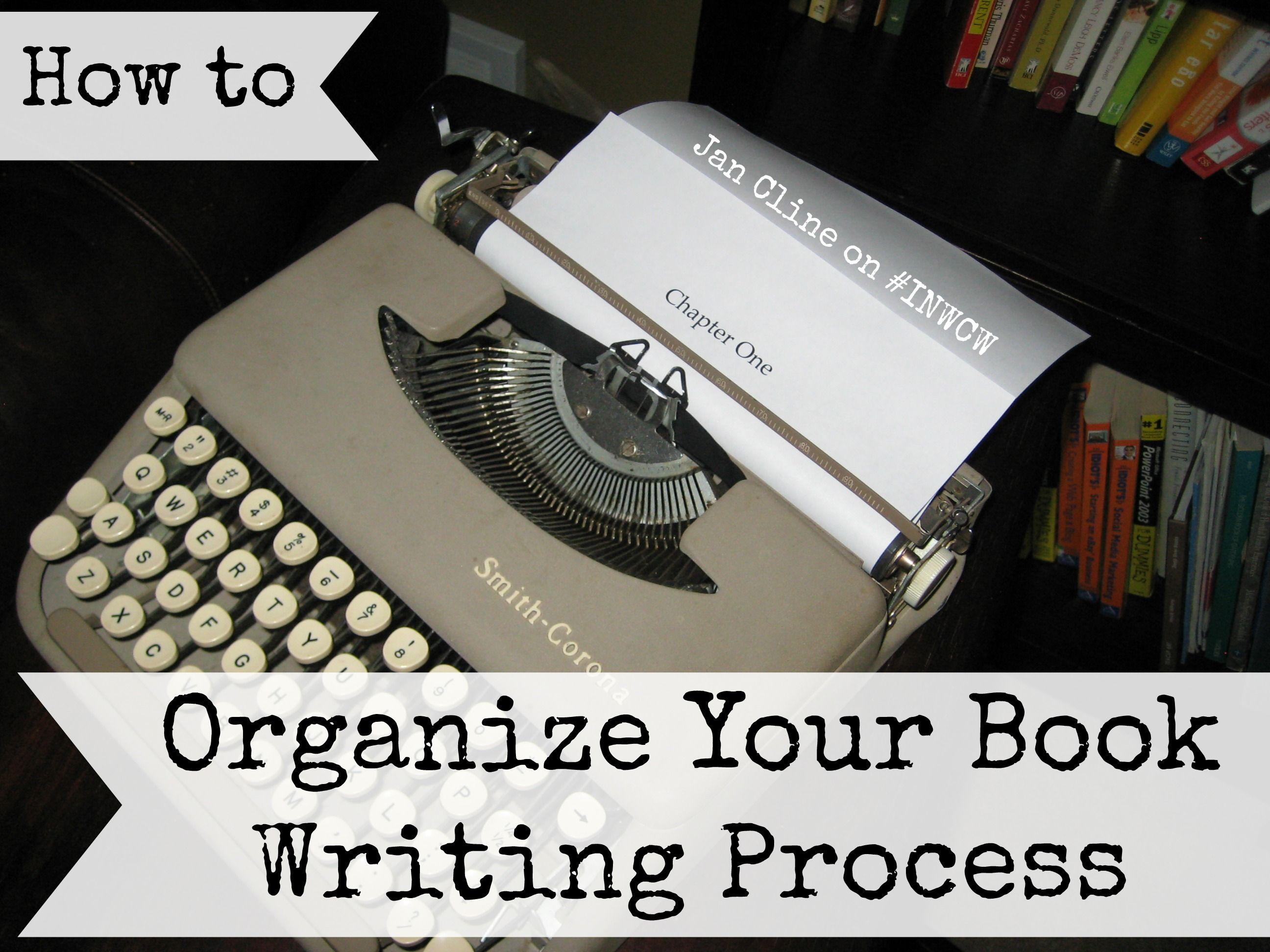organizing extremely creative writing