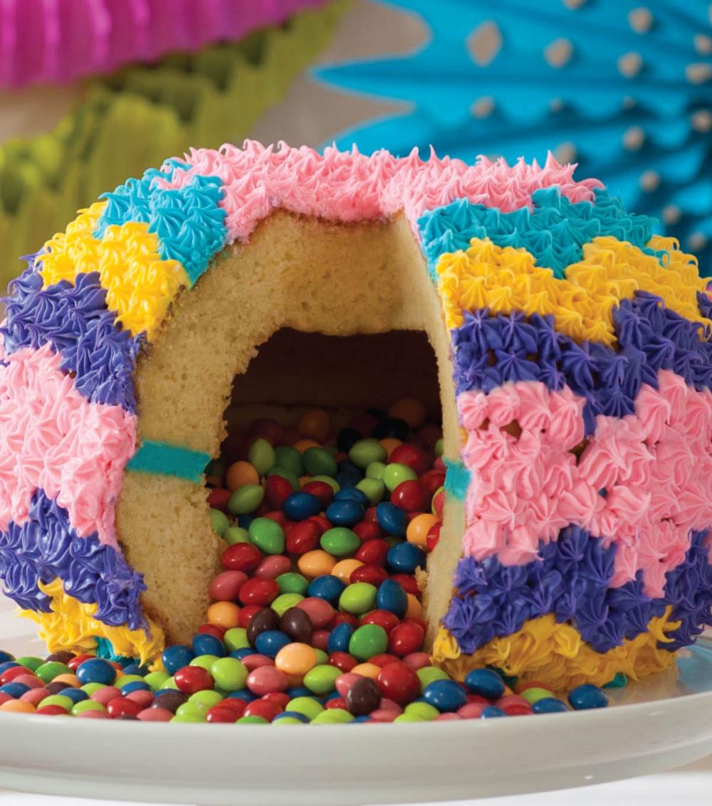 Photo of Surprise Filled Pinata Cake
