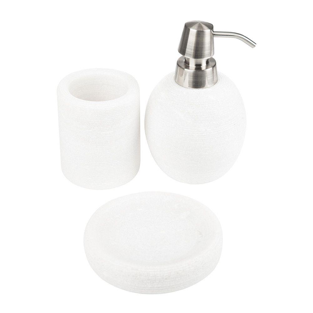 Zona Bathroom Accessory Set - White | אקסוריז | Pinterest | Bathroom ...