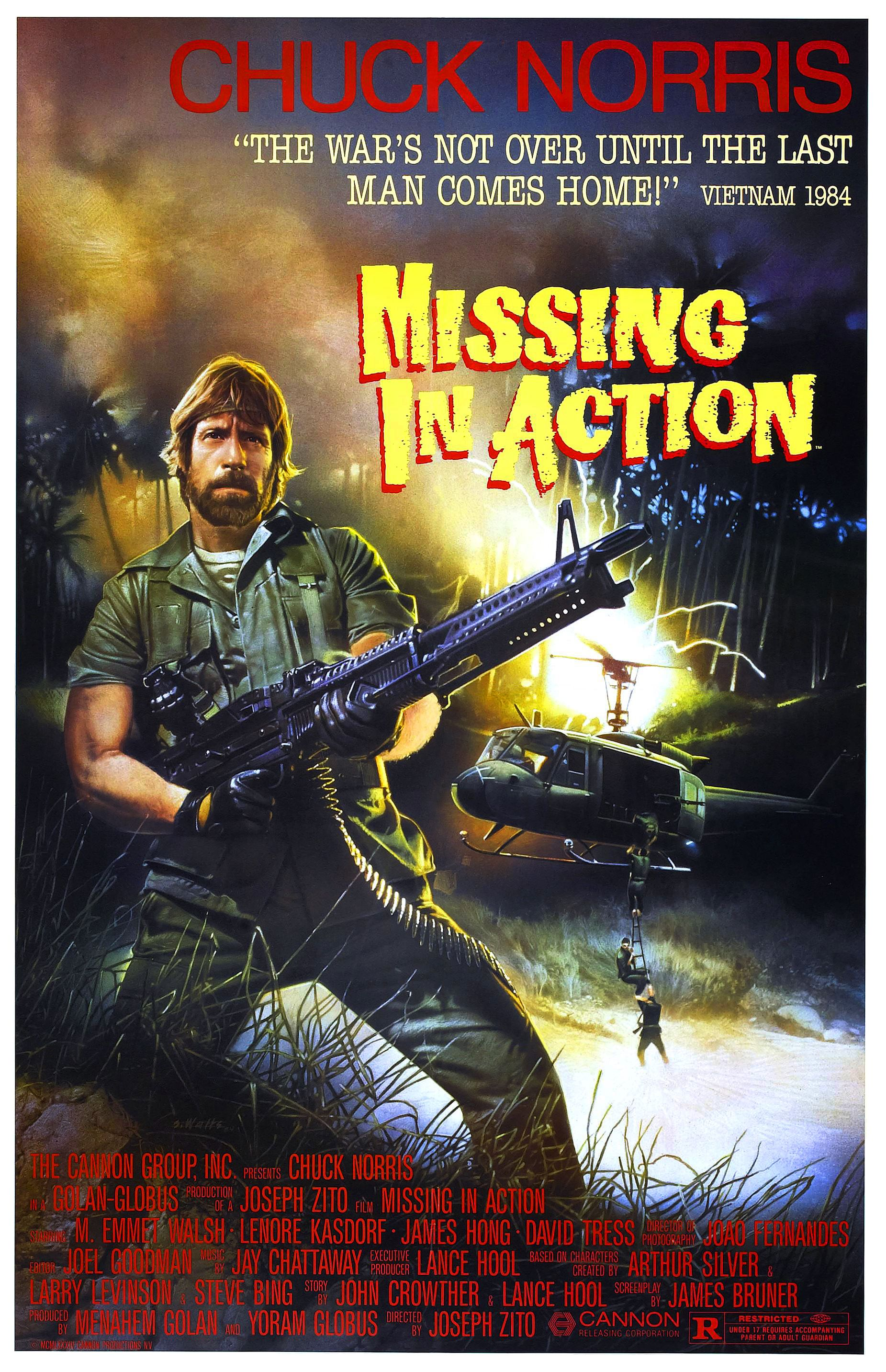 Missing In Action 1984 Glorious Movie Posters Pinterest Short Circuit 27x40 Poster 1986 Movies