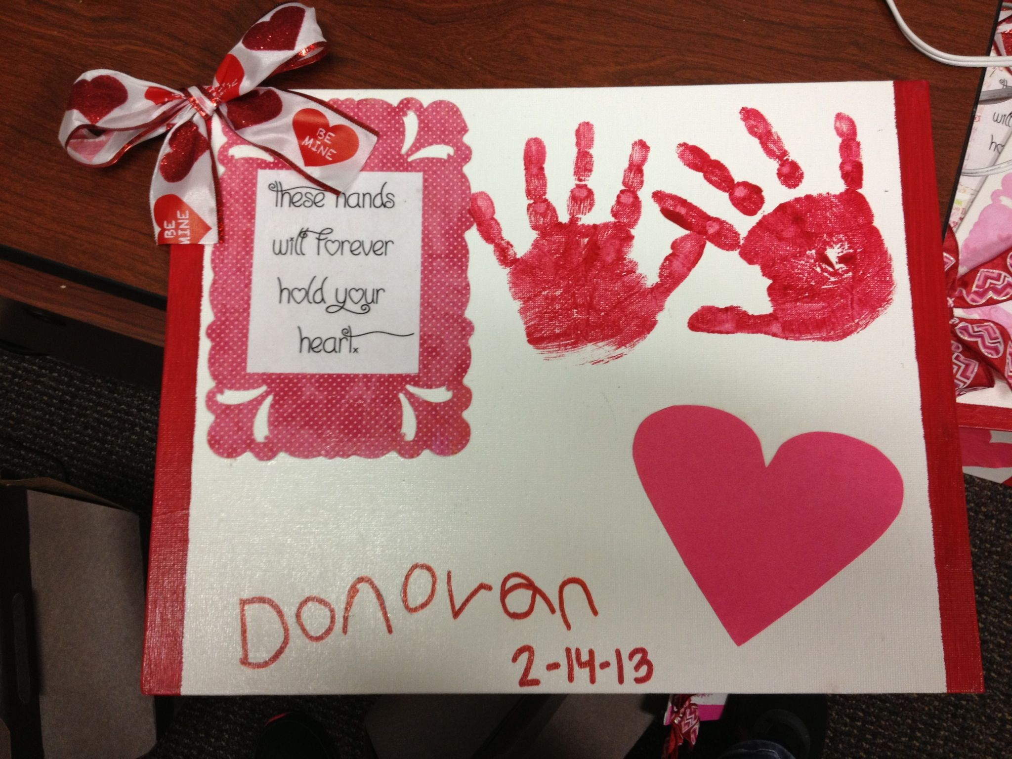 Pre K Valentine Craft With Images