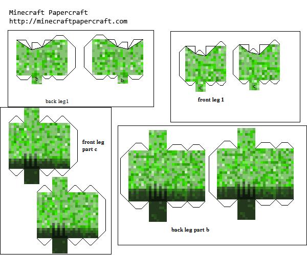 Papercraft Mutant Creeper Mutant Creeper Mod Paper Crafts Soda Tab Crafts Dollar Bill Origami