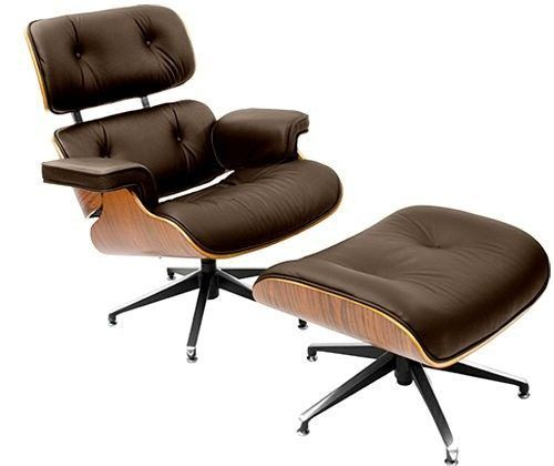 Poltrona Charles Eames - Cor Marrom | Cadeiras e Poltronas Design ...