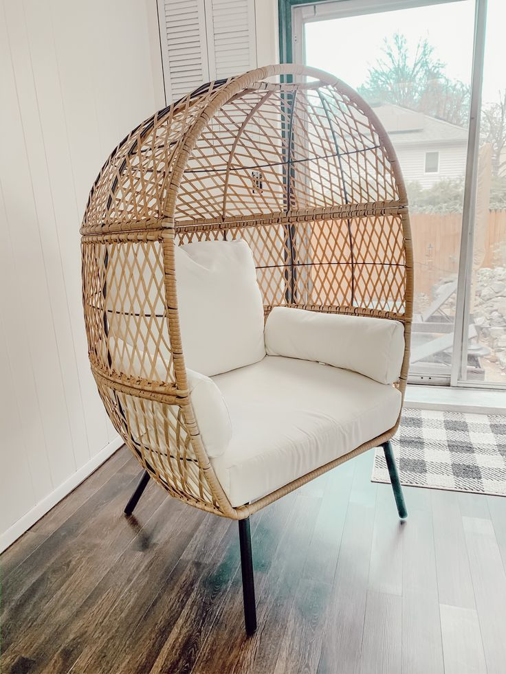 Welcome The Pretty Little Home Egg Chair Living Room Home Decor Home