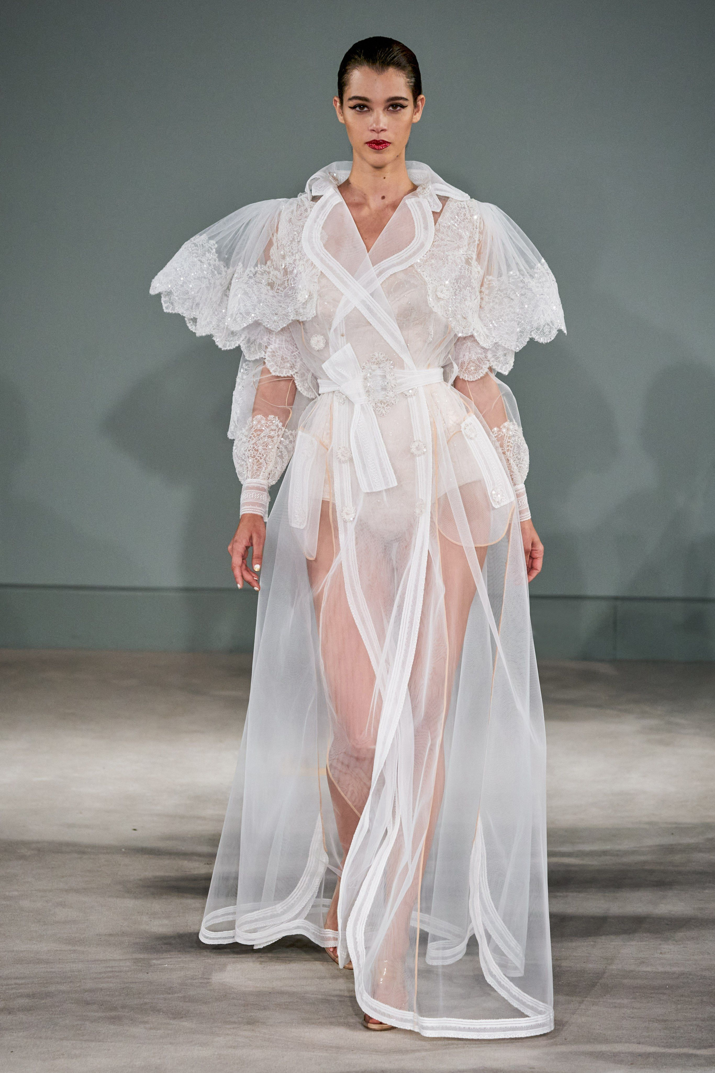 Alexis Mabille Spring 20 Couture Fashion Show   Spring couture ...