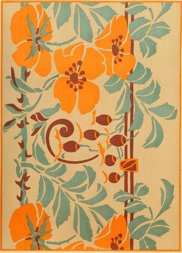 Stencil Design From The Public Domain Book Ideas Stu S In Stencilling Decorating