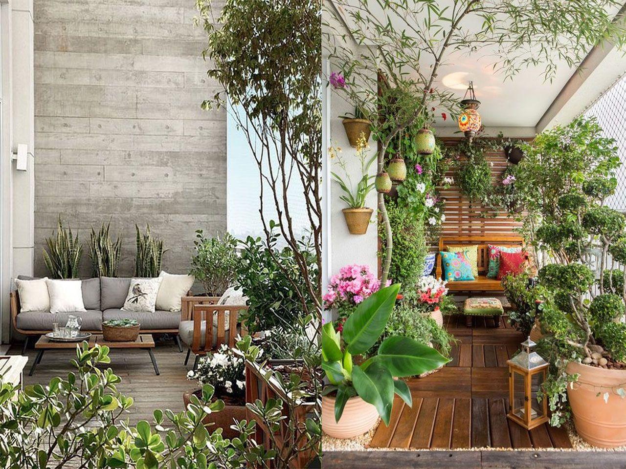 Ideas Para La Decoracion Terrazas O Balcones Que Te Vas A Enamorar Decoracion De Unas Decoracion Terraza Plantas Domesticas Interiores