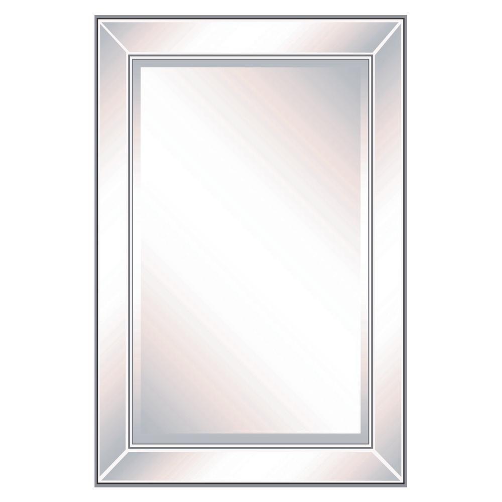Mirror Framed Mirror 2436mom1 The Home Depot