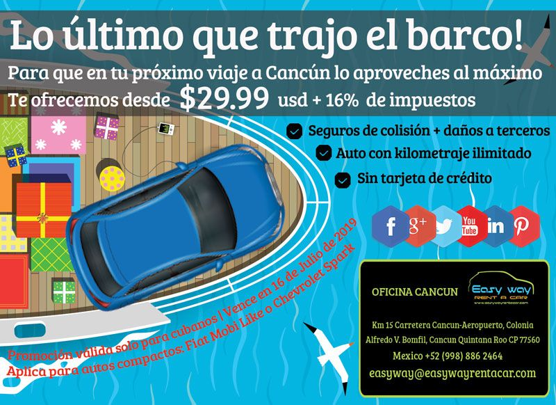 Pin by EasyWay Cancun Car Rental on Promociones Airport