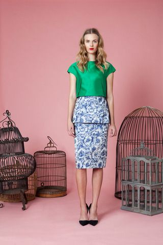 Lela Rose Pre-Fall 2014 Collection Slideshow on Style.com