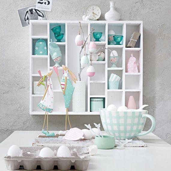 eine zauberhafte osteridee mit romantischem charme impressionen ostern deko impressionen. Black Bedroom Furniture Sets. Home Design Ideas