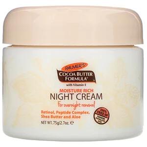 Palmer S تركيبة زبد الكاكاو كريم ليلي للترطيب الغني 2 7 أونصة 75 غ Iherb Cocoa Butter Formula Cocoa Butter Night Creams