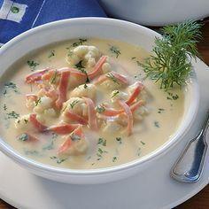Photo of Cauliflower soup with ham