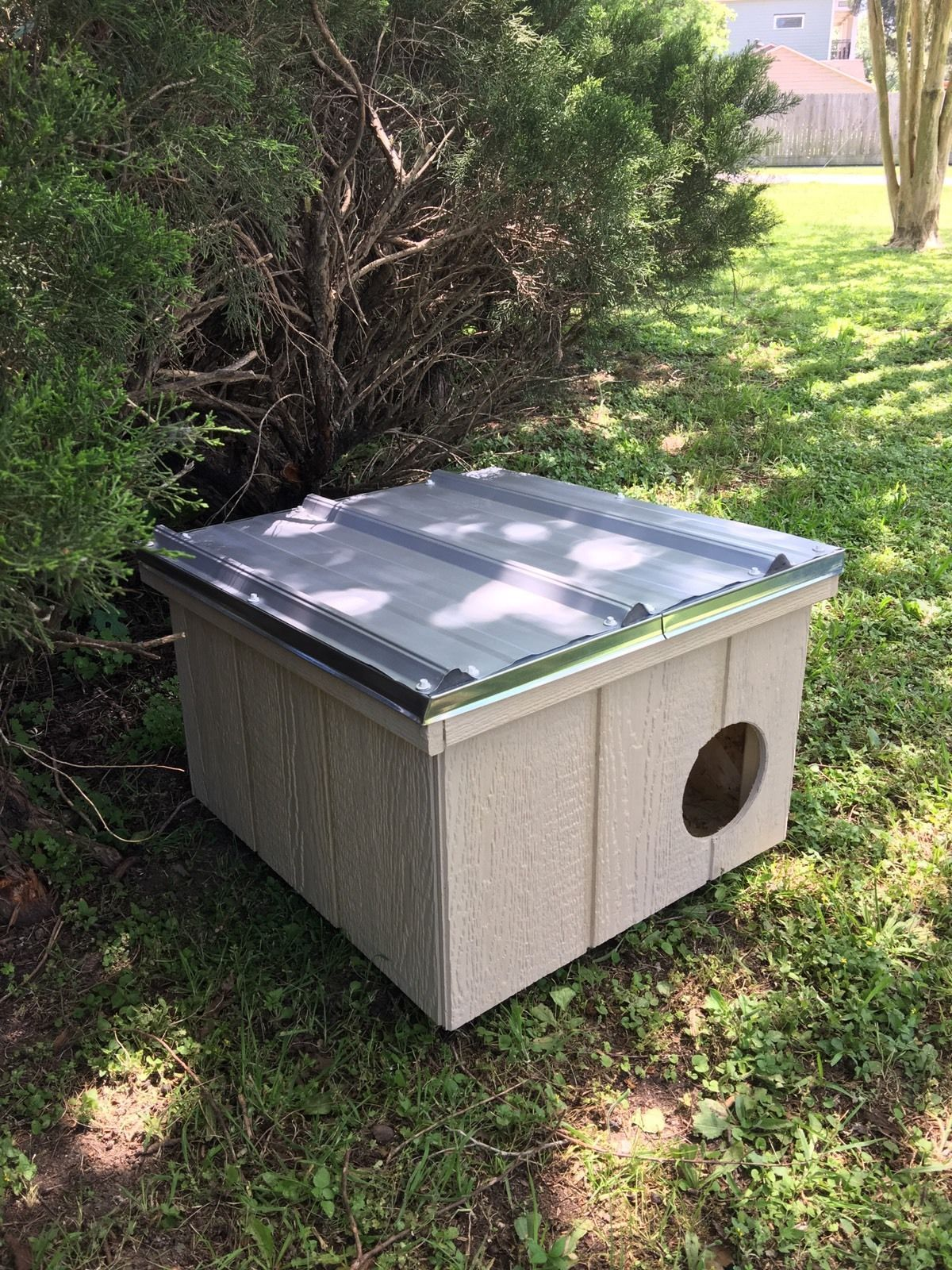 Fully Insulated Outdoor Cat House