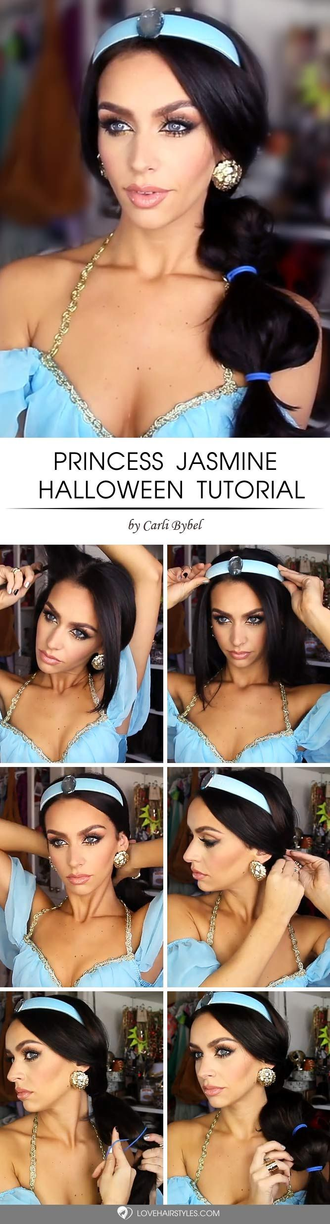 easy halloween hairstyles to make the day hair tutorials