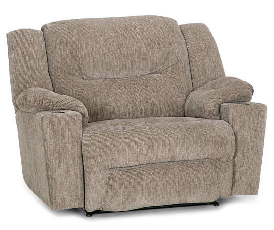 Parker Beige Recliner Comfortable Accent Chairs Recliner