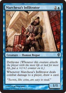 Conspiracy Magic Marchesa/'s Infiltrator 2x Marchesa/'s Infiltrator