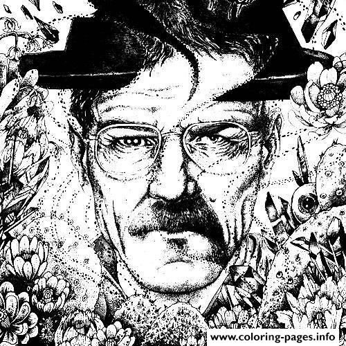 Print adult breaking bad angelarizza tumblr com coloring pages