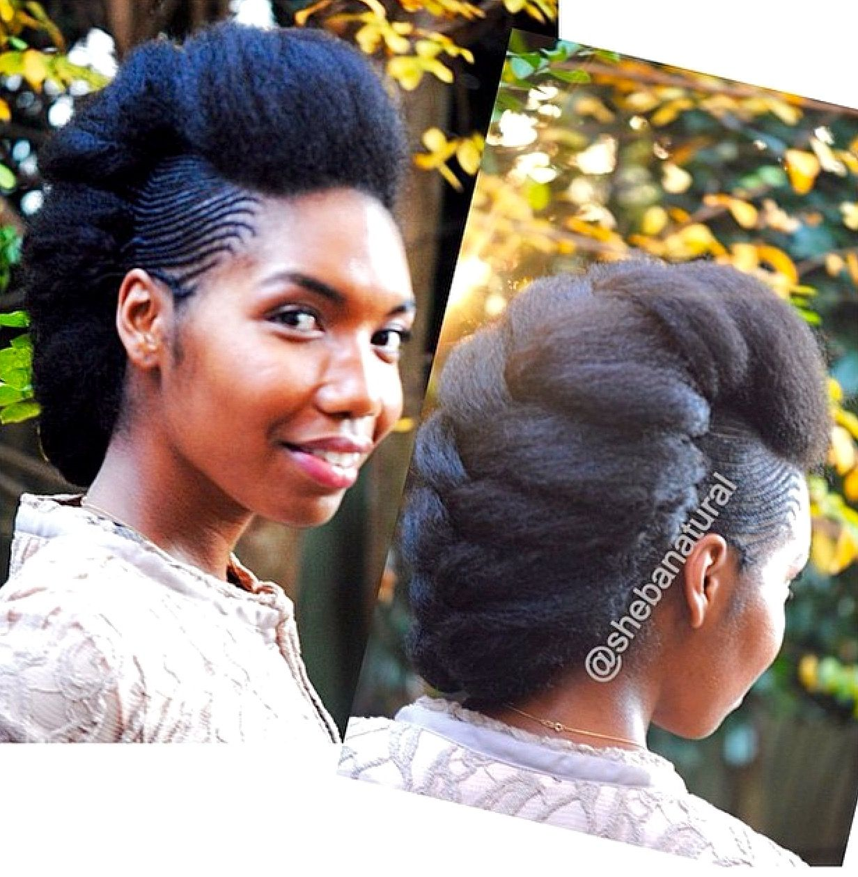 Formal hairstyle more the big chop pinterest hair styles