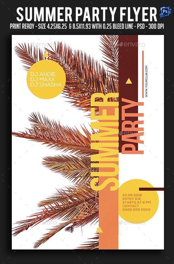 Photo of Sommerfest-flyer – Ferieventer