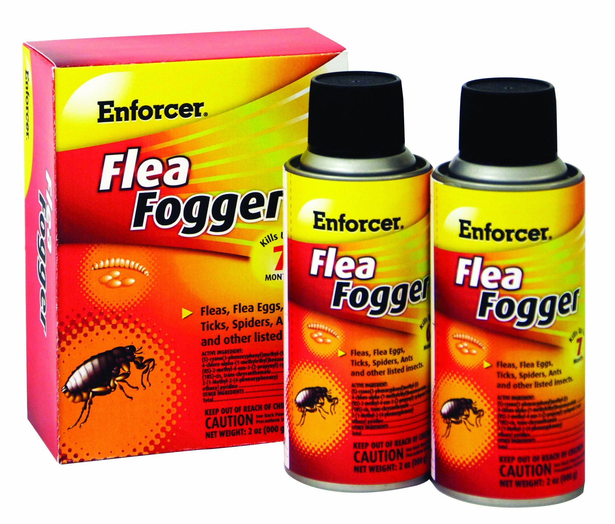 Enforcer 2Pack Flea Fogger *** Click image to review more