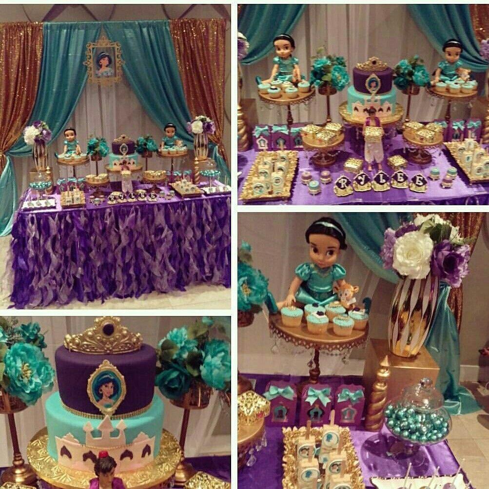 Jazmin party jazmin fiesta de jazm n fiesta de - Fiestas de cumpleanos de princesas ...