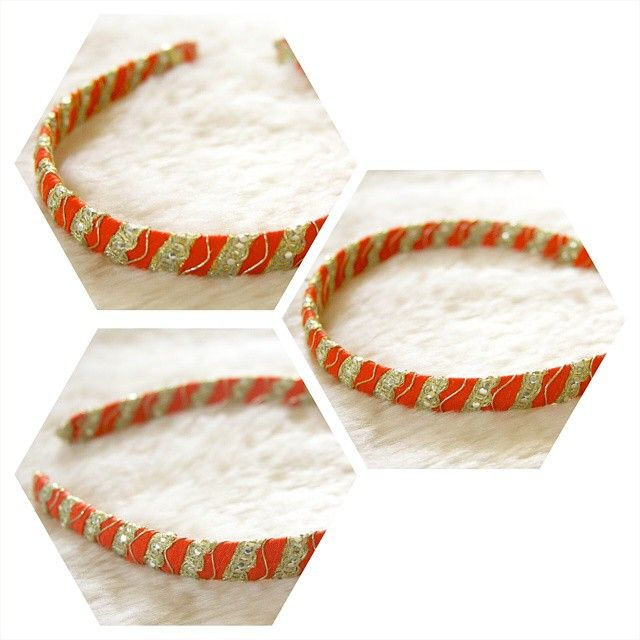 Another accessory I've been working on: lace hairbands! This bright orange and gold hairband makes a statement.  #ThatBeadBazaar #hairbands #hair #accessories #hairaccessories #handmade #lace #lacehairband #laceaccessories #handemadeaccessories #gifts #diy #diyaccessories #comingsoon #etsy