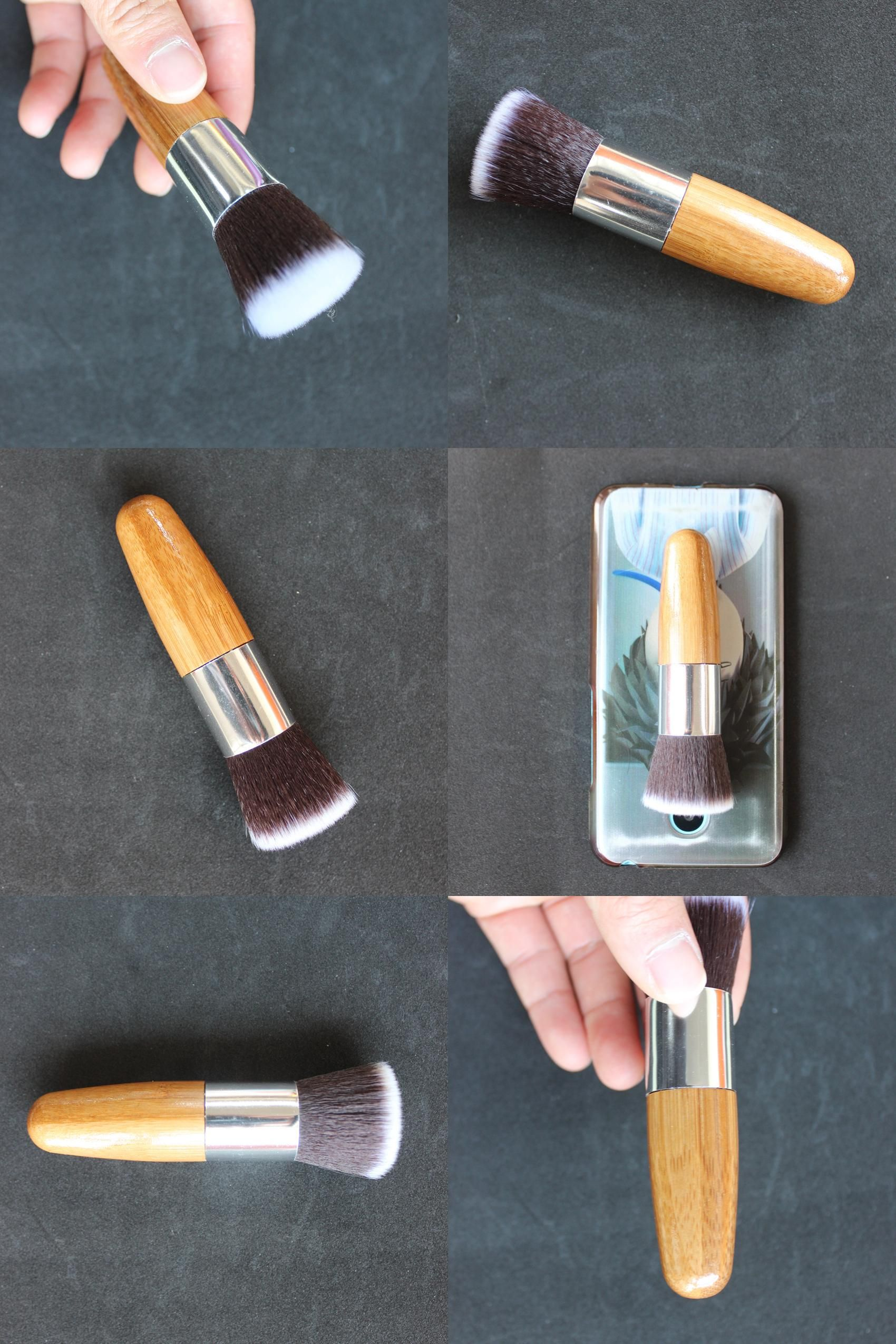 [Visit to Buy] DOWERME Single Thread Wool Handle Makeup
