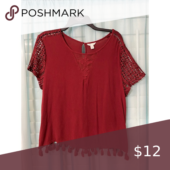 Red Cato top