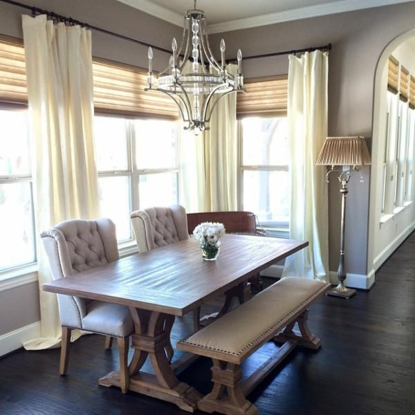 Home Decor Dining Table: The Perfect Rustic Dining Room Table