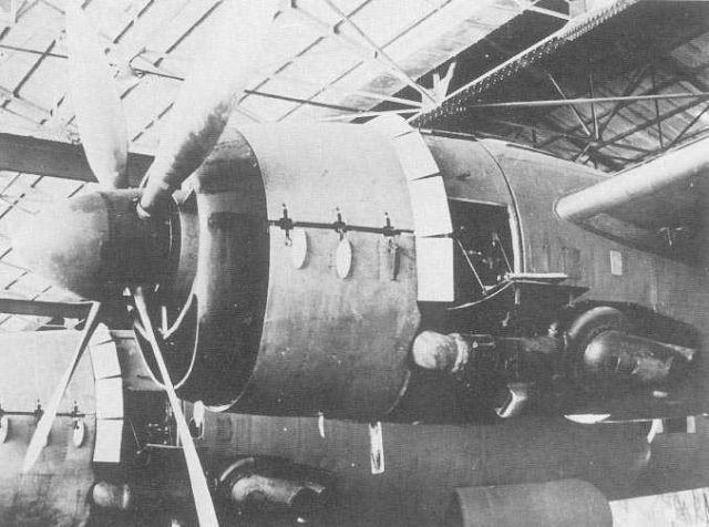 G8N 'Renzan' (Mountain Range) (allied codename Rita) found abandoned after the Japanese surrender, November, 1945.